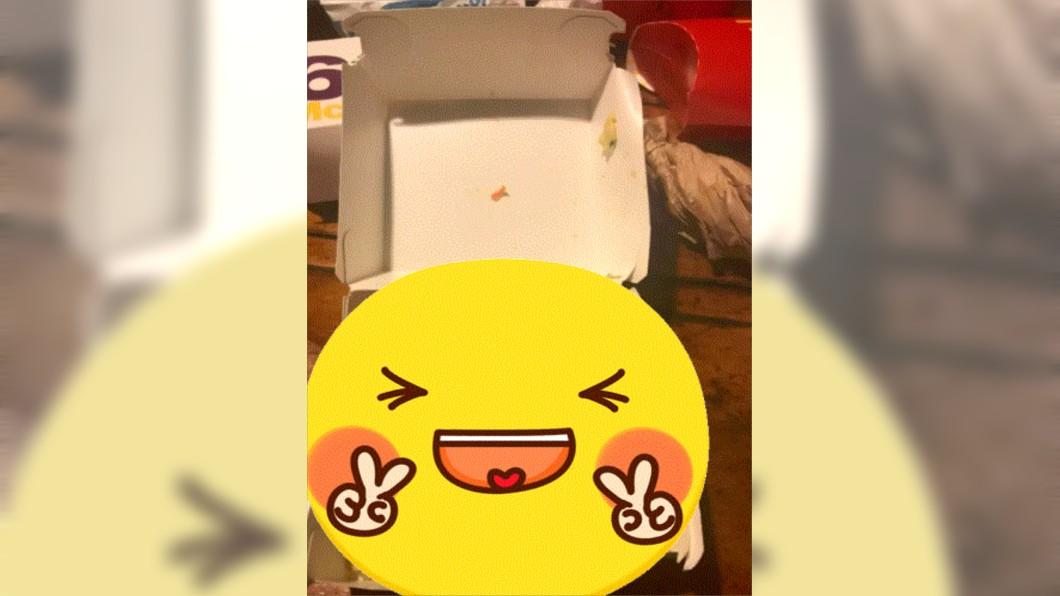 (圖/翻攝自Dcard) 麥當勞竟有「隱藏菜單」?她開漢堡盒看傻:怎麼是它