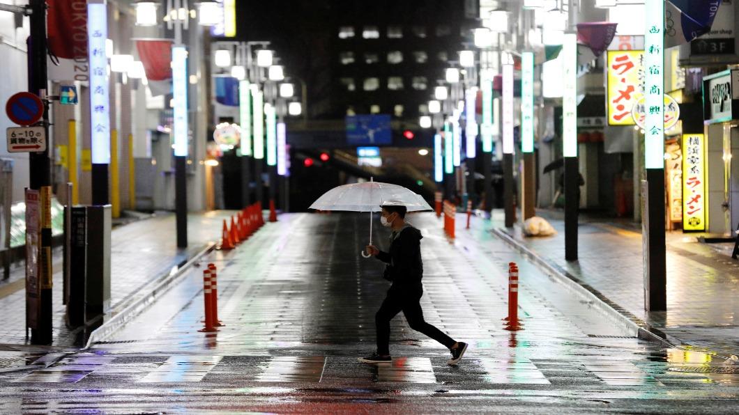 圖/達志影像路透 日本梅雨季陸續報到 防疫.防災兩頭燒
