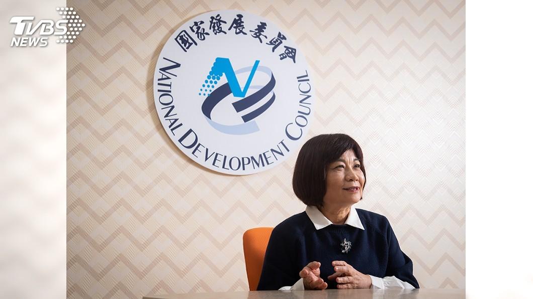 圖/中央社 國發會遭批跟不上腳步 陳美伶:不能抹滅同仁努力