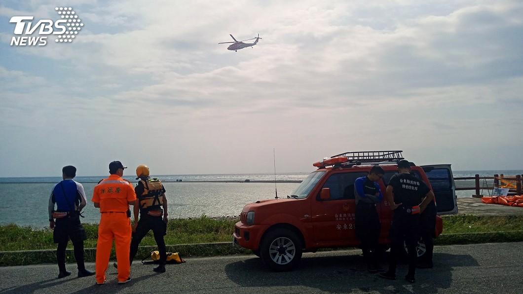 圖/中央社 捕魚失蹤男子遺體尋獲 台東近半年8人溺斃