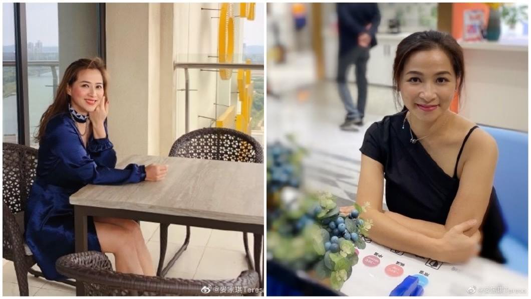 香港女星麥家琪近來淡出演藝圈,在家專心相夫教子。(圖/翻攝自微博) 曾拍裸照和三級片…黑歷史被兒挖出揶揄 女星怒摑1巴掌
