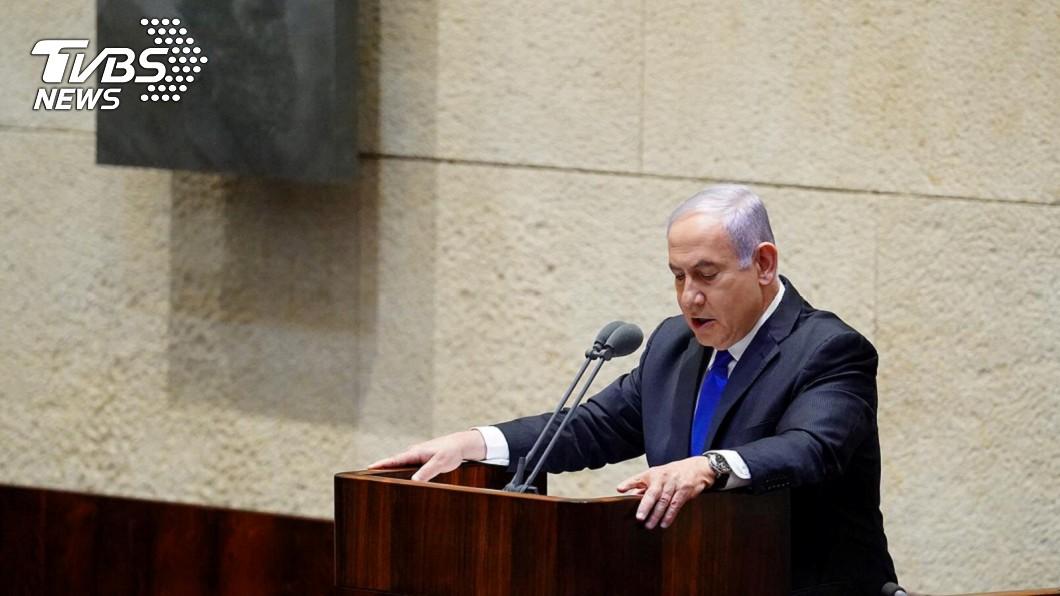 圖/達志影像路透社 以色列新政府宣誓 尼坦雅胡矢言兼併西岸屯墾區