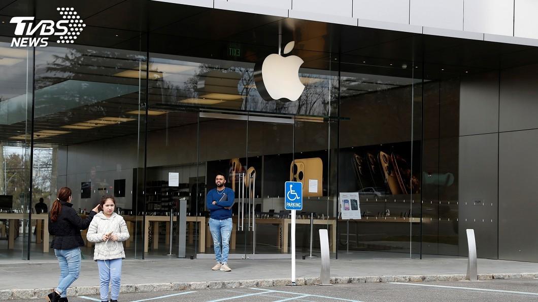 圖/達志影像路透社 蘋果逾25家美國直營店 本週將恢復營業