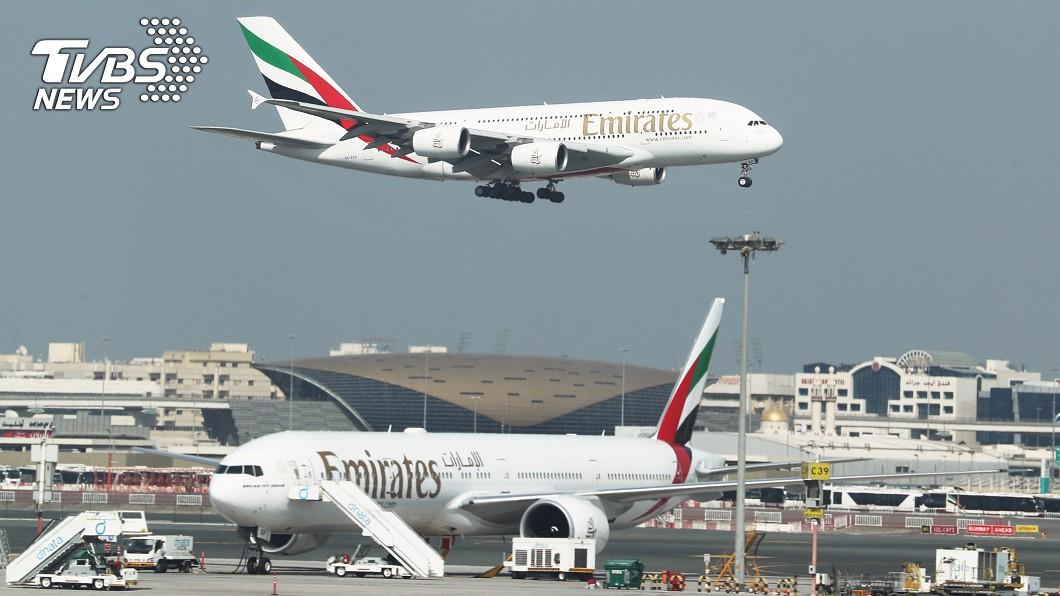 圖/達志影像路透社 傳阿聯酋航空將裁員3萬人 擬加速空巴機隊除役
