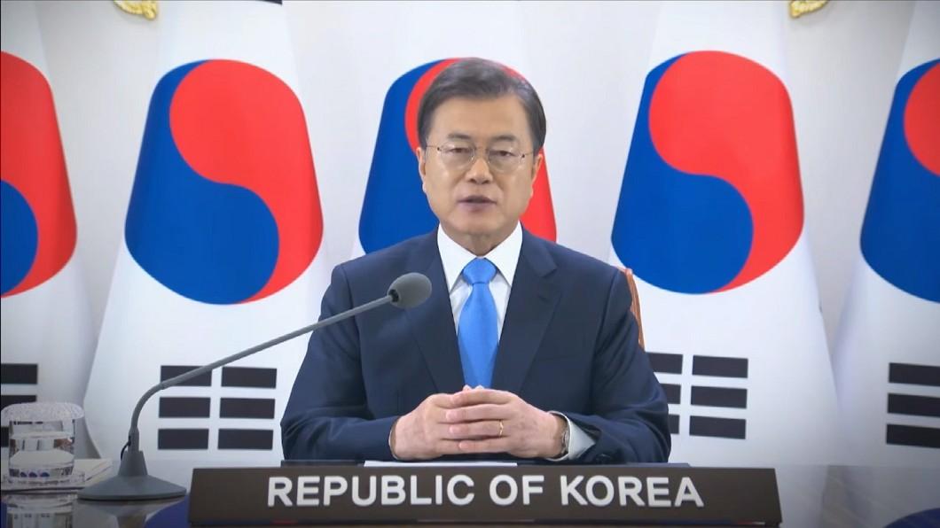 圖/翻攝自WHO官網直播 韓國總統文在寅WHA演說 籲強化WHO能力