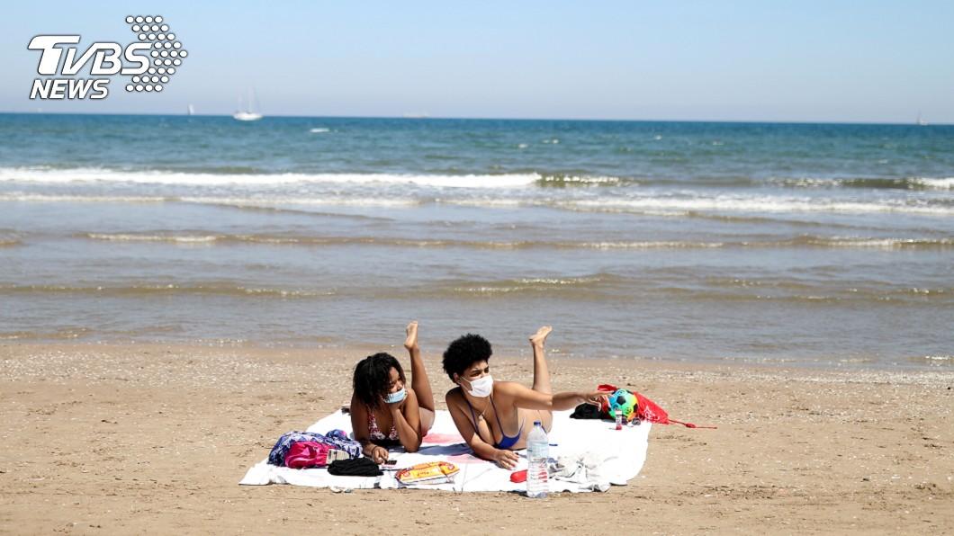圖/達志影像路透社 歐洲疫情減緩  德國人今夏有望到南歐度假