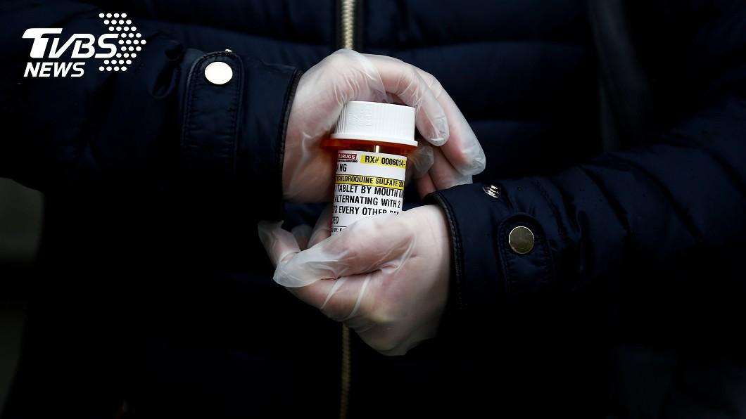 圖/達志影像路透社 無視FDA警告 川普自曝每天吃「瘧疾藥」抗疫