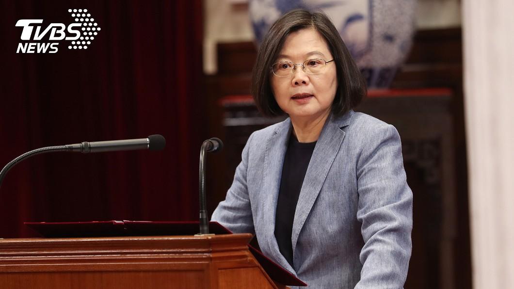 圖/中央社 蔡英文就職演說內容曝光!4大面向決定台灣未來