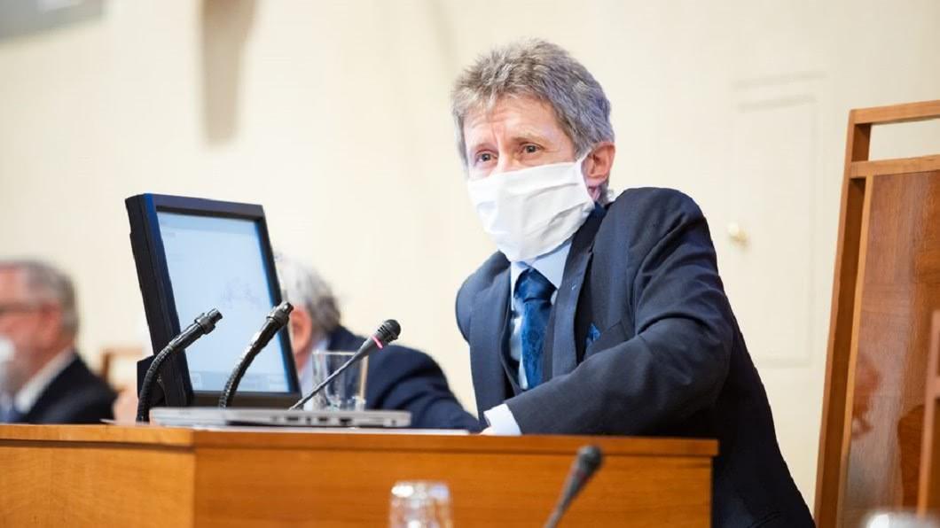 參議院議長維特齊。(圖/翻攝自Miloš Vystrčil臉書) 捷克參院議長將訪台 外交部:3次採檢高規格防疫