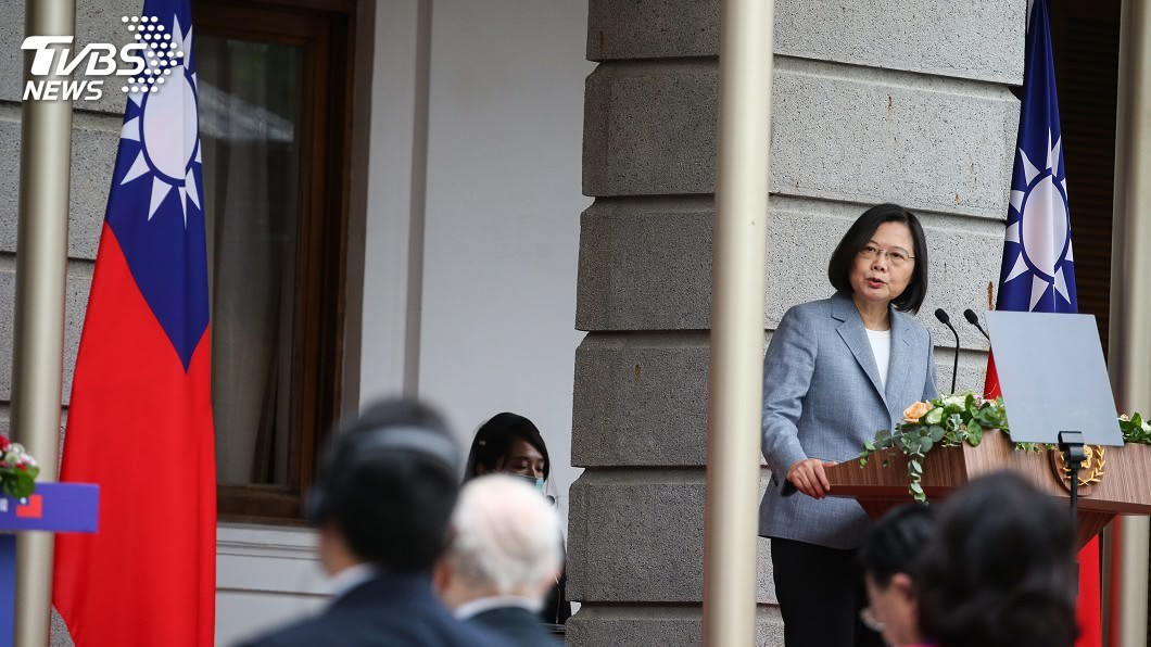 圖/中央社 外交部:蔡總統第二任就職 美方祝賀層級歷來最高