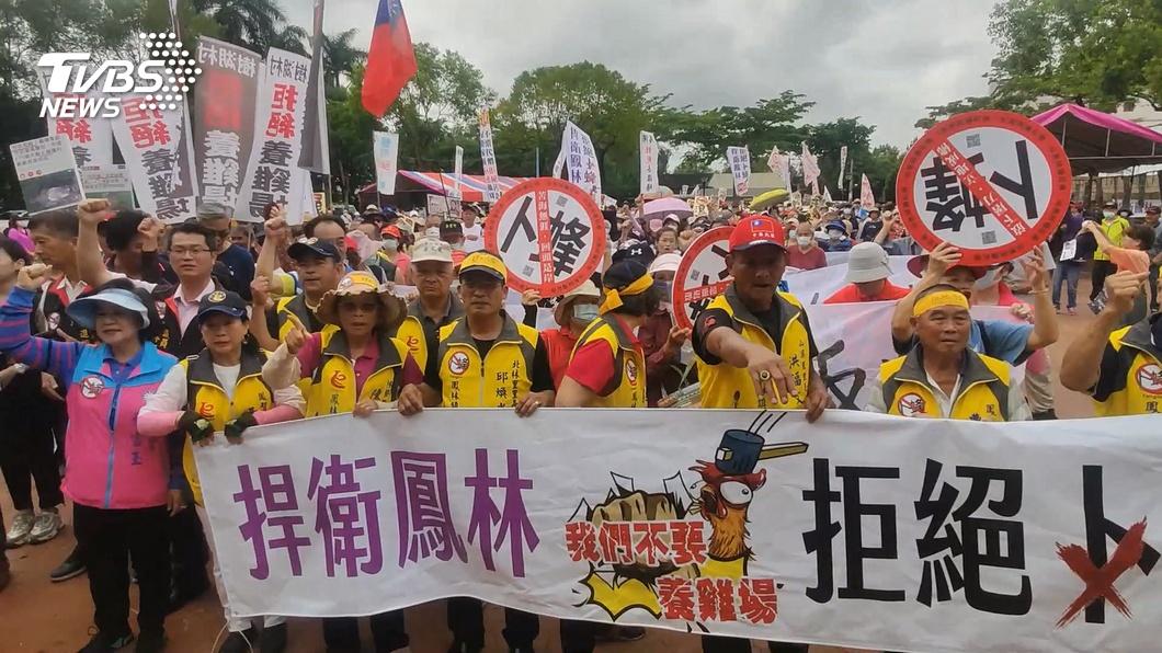 圖/TVBS資料畫面 反卜蜂民眾議會陳情 徐榛蔚重申傾聽民意