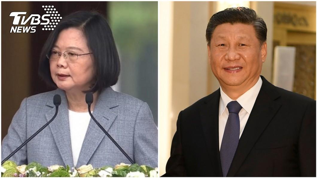 圖/TVBS、達志影像路透社 520演說小英避談主權 藍委提4點批:比陳水扁還不如