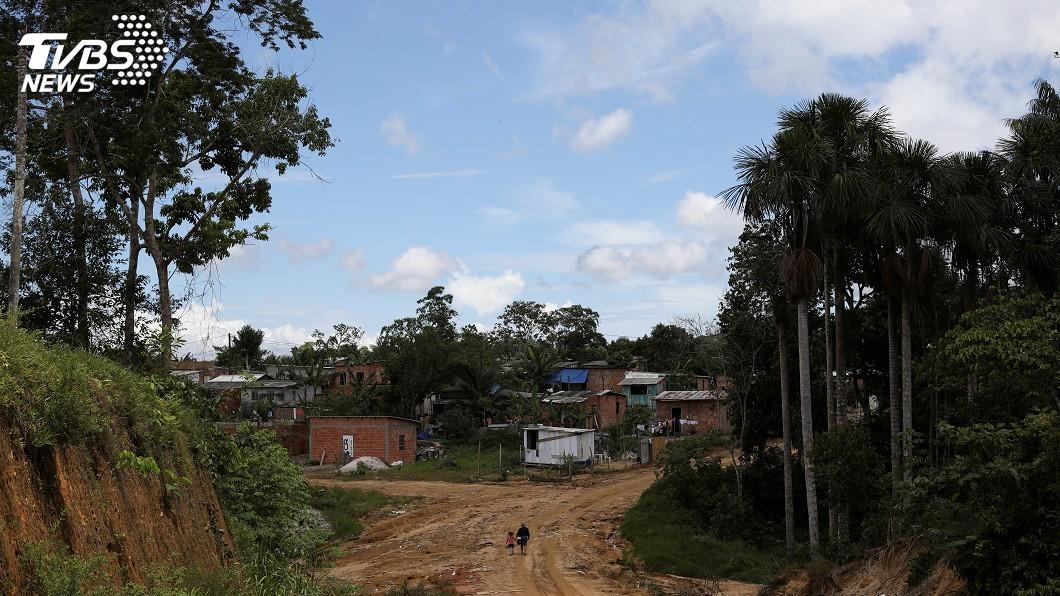 圖/達志影像路透社 巴西淪疫情重災區 亞馬遜原住民面臨種族滅絕威脅