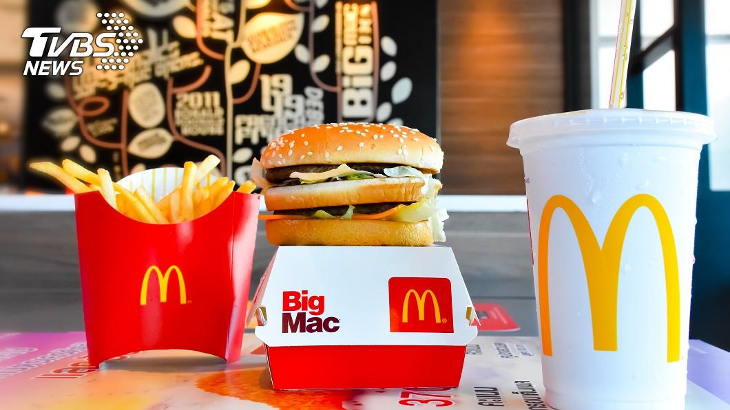 示意圖/TVBS 英、美麥當勞大比拚! 餐點份量、成份現驚人差異