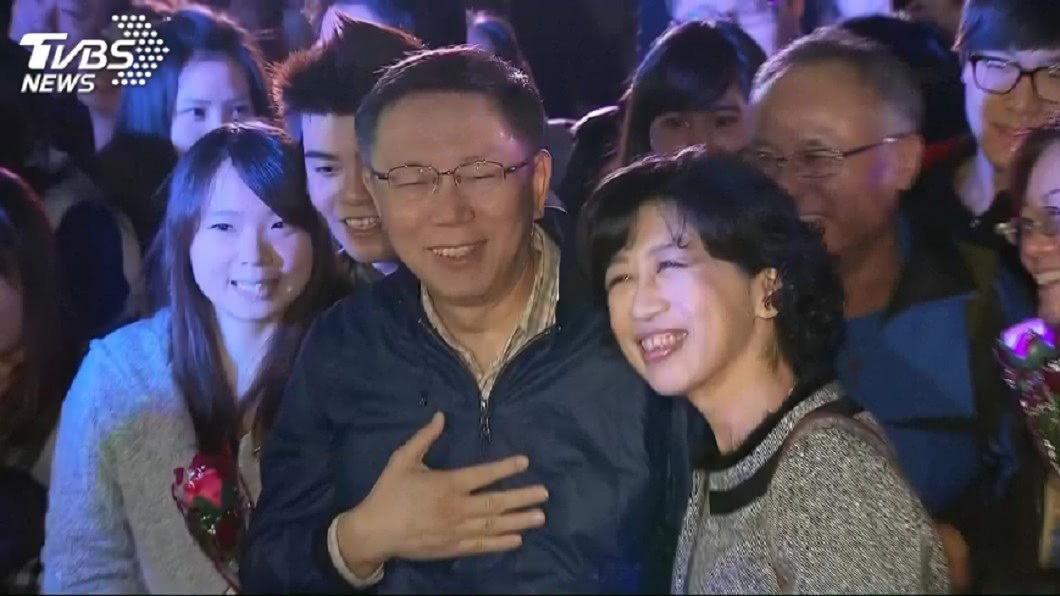 台北市長柯文哲和妻子陳佩琪感情深厚。(TVBS資料圖) 暗酸蔡英文?陳佩琪談「選總統」:騙到的人是贏家