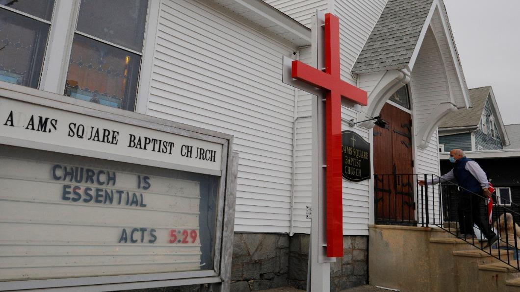 圖/達志影像路透 美解封後18州確診變多 教會群聚防疫破口