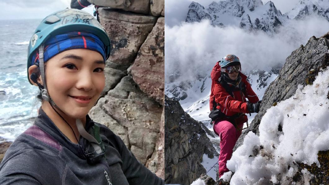 (圖/翻攝自詹喬愉 - 三條魚Tri Fish臉書) 女星登聖母峰驚見6遺體嚇壞 墜落冰河受困26小時