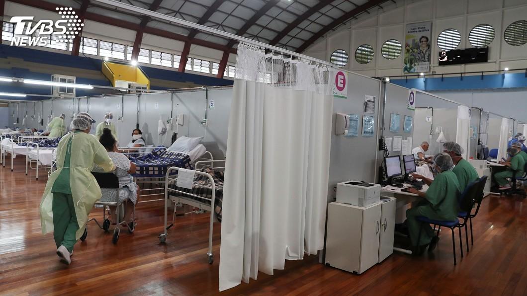 圖/達志影像路透社 巴西新增死亡病例再創紀錄 確診恐成全球第2高