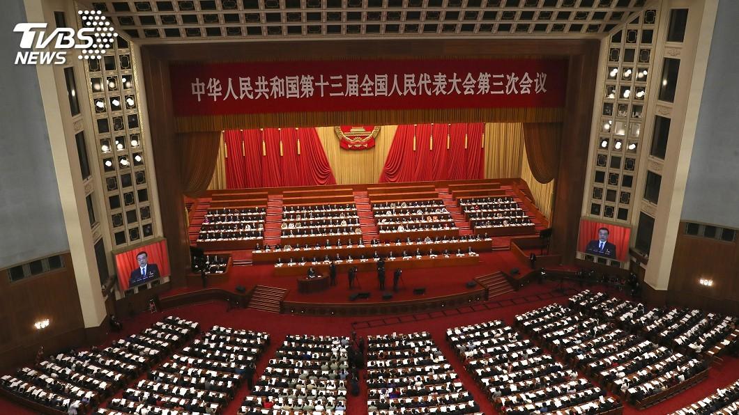圖/達志影像美聯社 陸推「港版國安法」 陸委會:中共缺乏自省能力