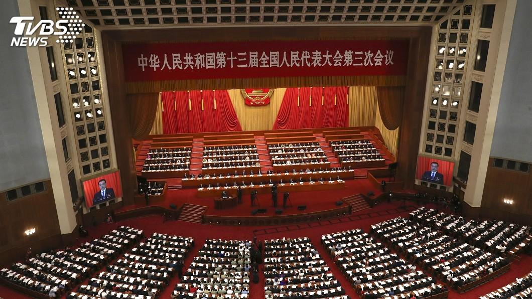 圖/達志影像美聯社 香港版國安法草案公布 北京將在港設國安機構
