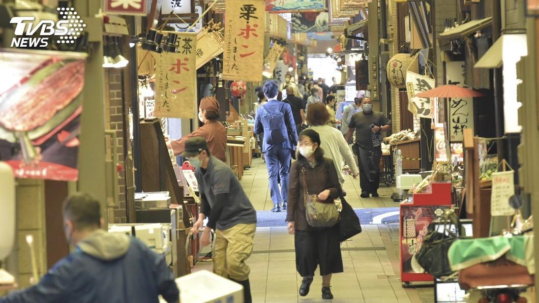 圖/達志影像美聯社 日本4月消費者物價指數負成長 引通貨緊縮憂慮