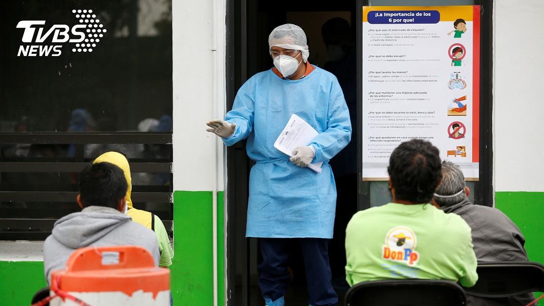 圖/達志影像路透社 墨西哥武漢肺炎再添2973例確診 創單日通報新高