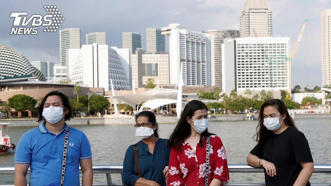 圖/達志影像路透社 新加坡添614人感染武漢肺炎 累計破3萬例