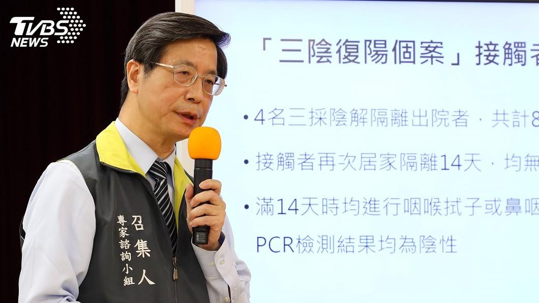 圖/中央流行疫情指揮中心提供 癌症+吸菸中年男染疫變重症 靠葉克膜撐33天獲救