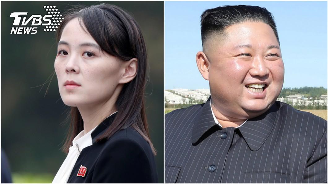 北韓領導人金正恩(右)與妹妹金與正。圖/達志影像路透社 金正恩再神隱、妹頻露面 前NBA球星:北韓不對勁了