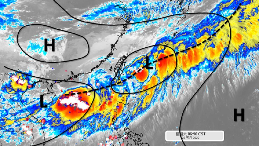 梅雨鋒面未完!下週還有一波 2地區防雨彈
