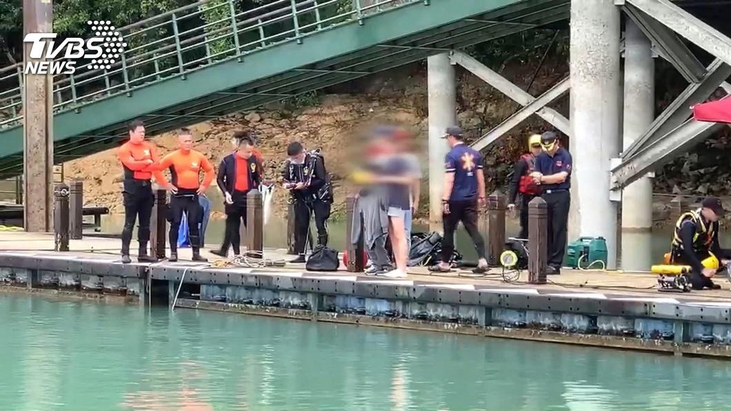 日前一名37歲張姓女子在日月潭落水,尋獲時已身亡。(圖/中央社) 女子日月潭落水溺死 獨留母親悲傷不已