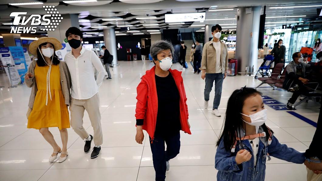 圖/達志影像路透社 韓國武漢肺炎疫情新增23例確診 累計1萬1165例