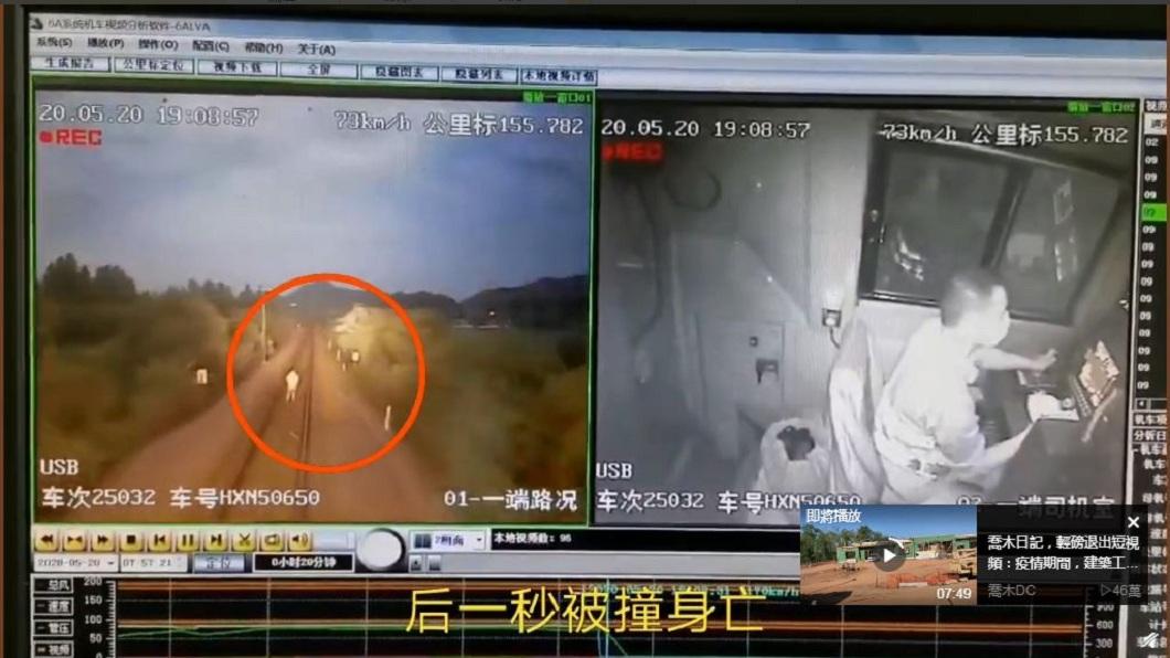 男只顧在鐵軌用手機拍影片 下秒遭疾駛火車撞上屍首異處