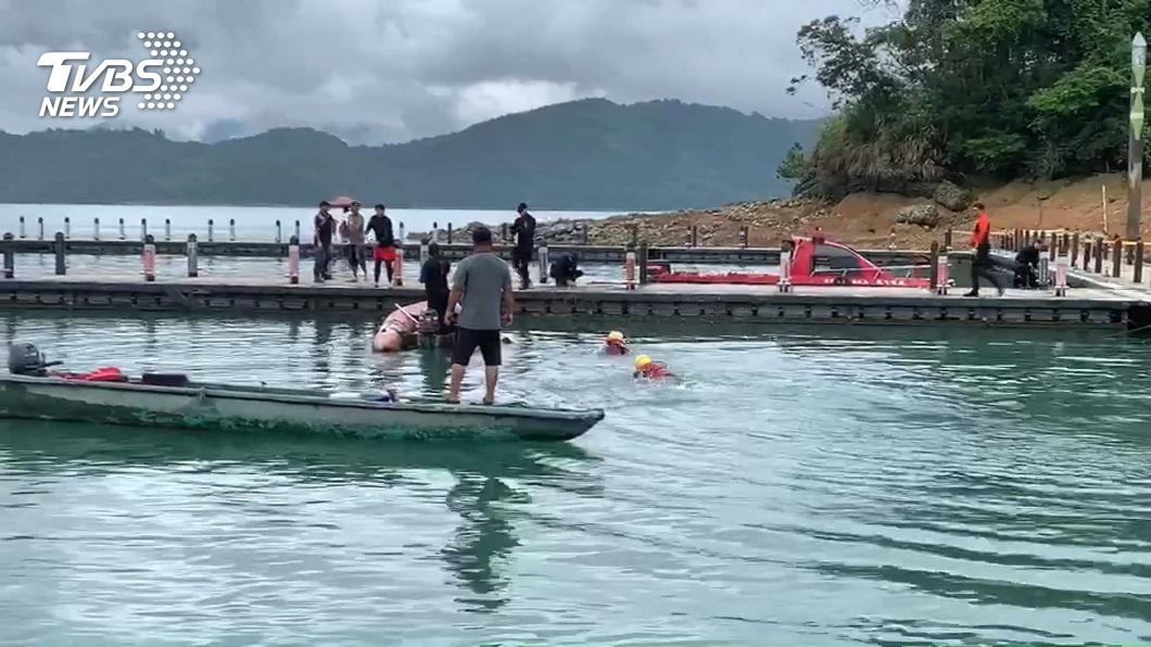 警消搜救21小時 日月潭失足女遺體尋獲