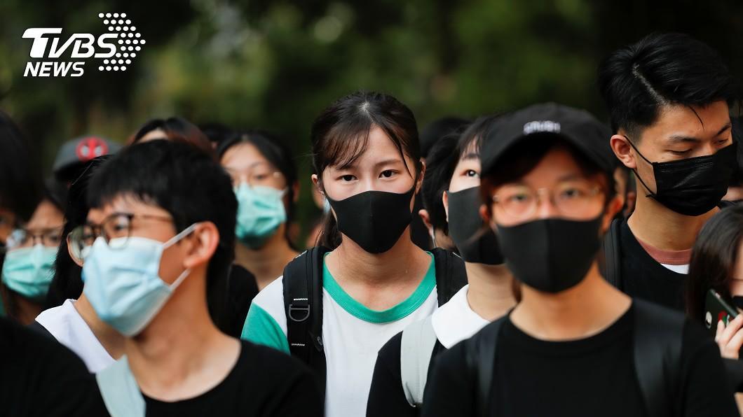 圖/達志影像路透社 反送中運動促使更多港生赴台升學 年增65%