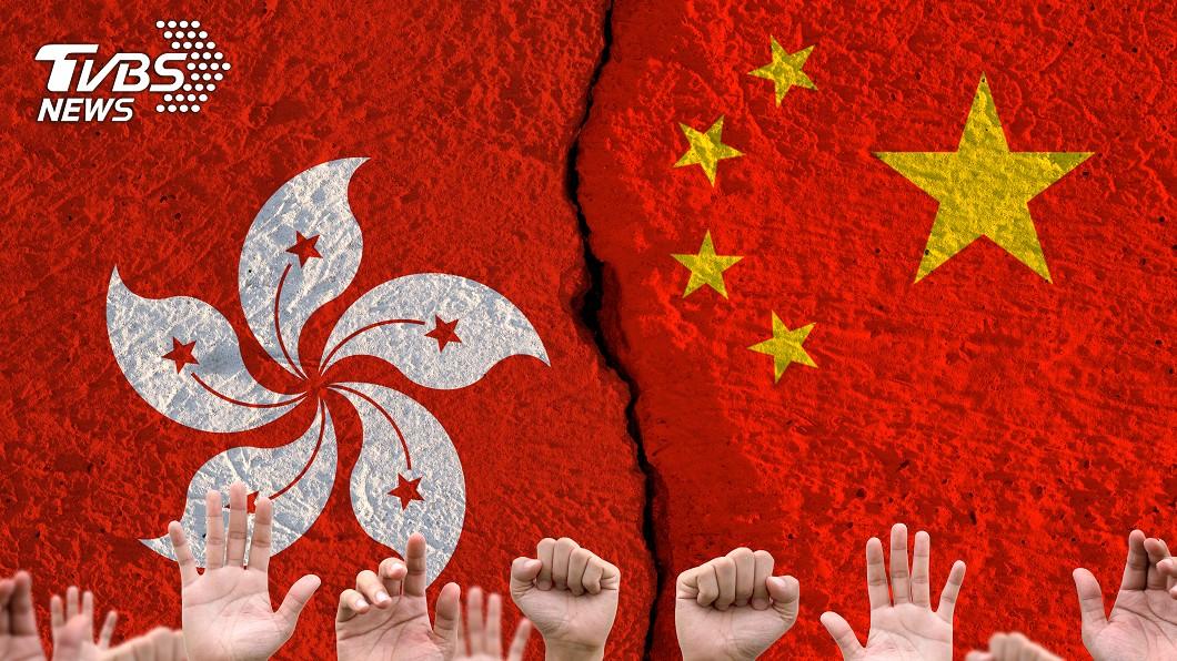示意圖/TVBS 港版國安法若通過 國安會:一國兩制承諾破滅