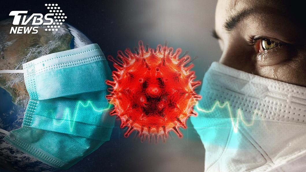 圖/TVBS 全球新冠肺炎確診破632萬例 逾37.7萬人病死
