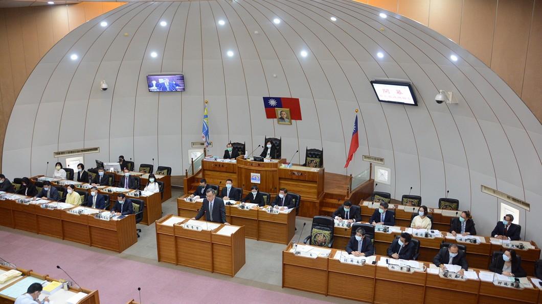 圖/翻攝自賴峰偉臉書 賴峰偉議會施政報告 下半年全力振興觀光