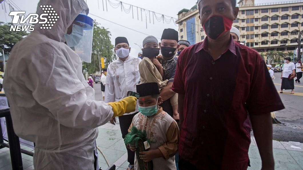 印尼今天通報新增479起確診。(圖/達志影像美聯社) 印尼武漢肺炎新增479起確診 染疫人數逾2.2萬