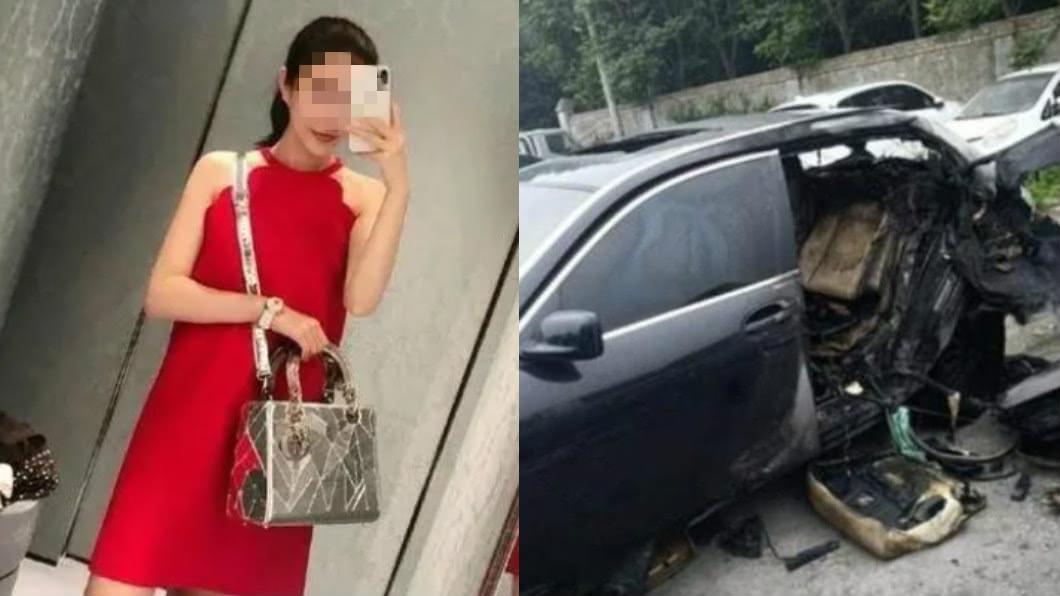 女富二代酒駕撞BMW鬧出人命。圖/翻攝自微博) 酒駕瑪莎拉蒂撞死2人!富家女:寧花1億打官司也不賠償