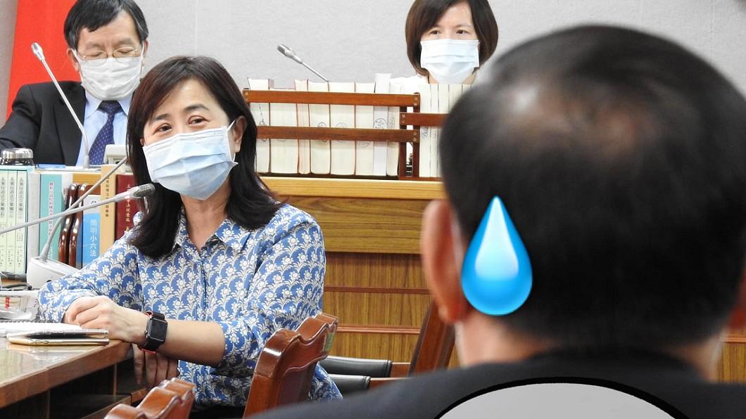 圖/Facebook 立法委員林奕華 不追究罷韓文宣冒用法務部徽 藍委酸:大家一起業配吧!