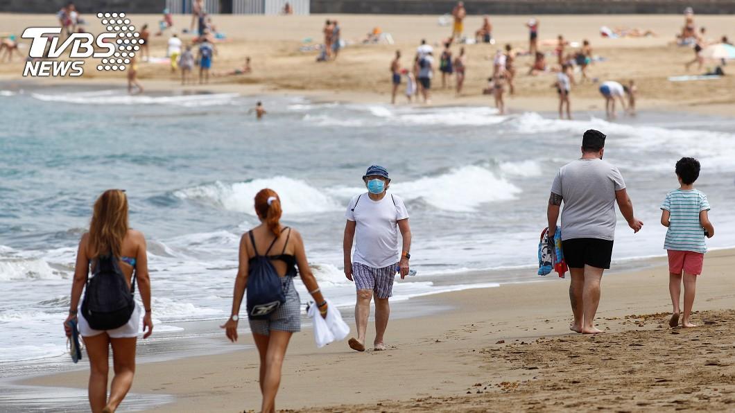 圖/達志影像路透社 西班牙歡迎遊客7月到訪 旅遊業缺乏信心