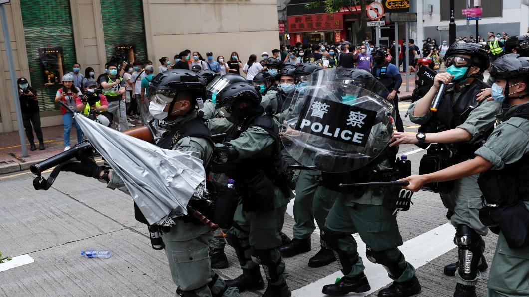 圖/達志影像路透 反送中.新冠.國安法 香港恐失國際金融地位