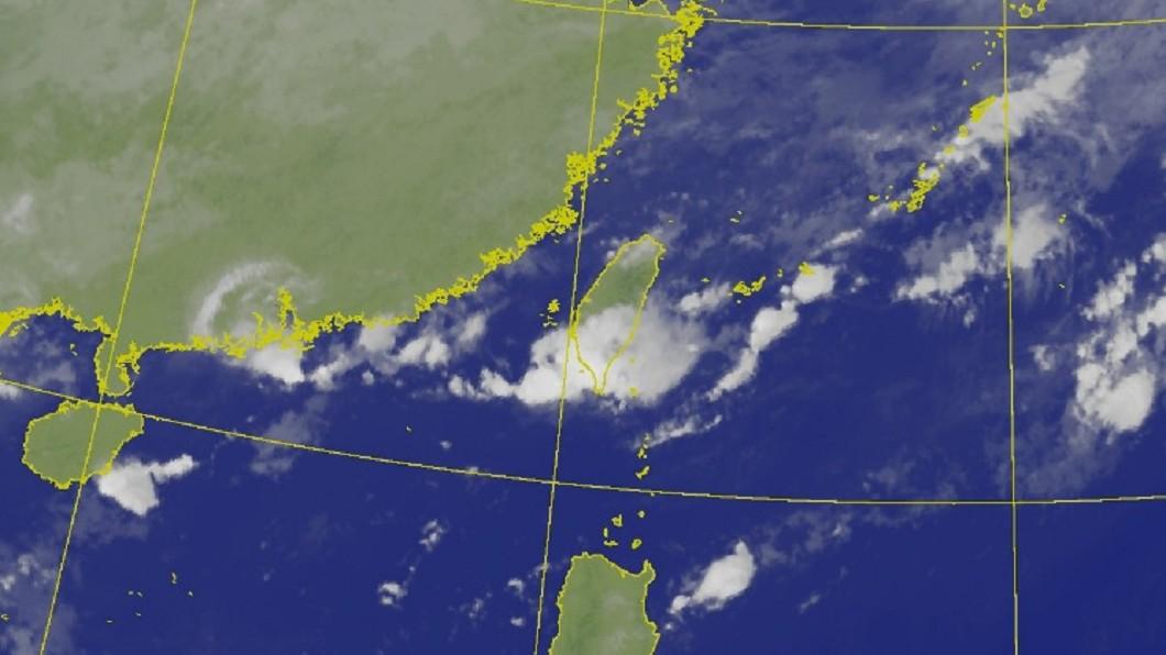 圖/中央氣象局 「對流胞」整隊今上午雨最大 豪雨特報3縣市防淹水