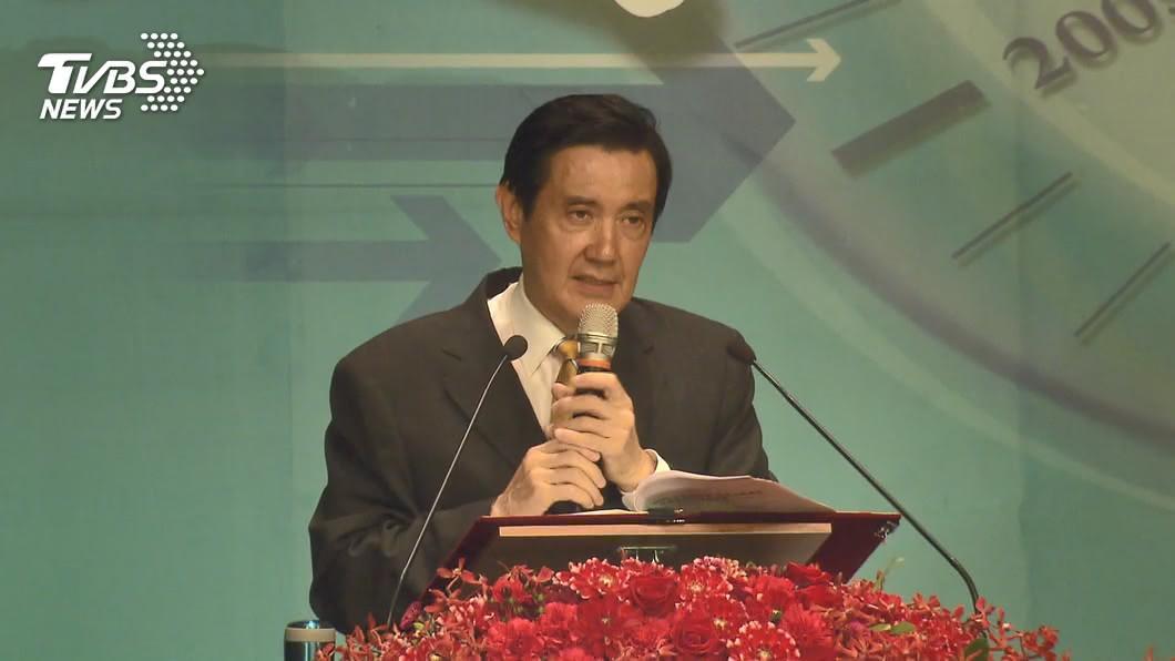 前總統馬英九。(圖/TVBS資料畫面) 太陽花驅離被控殺人未遂 馬英九獲判無罪