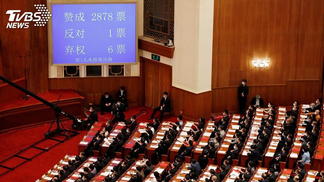 圖/達志影像路透社 港版國安法立法倒數計時 內容爭議一次看懂