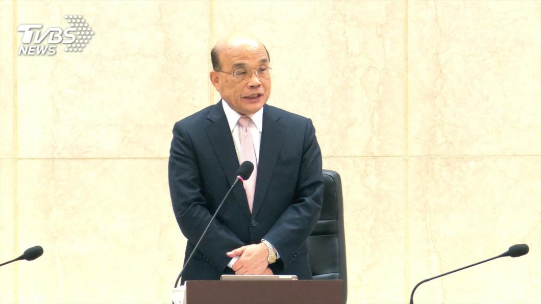 行政院長蘇貞昌將於6/2對外宣布,振興券的具體規劃內容。(圖/TVBS資料畫面) 振興券方案6/2公布 經濟部官員:沒說不發現金