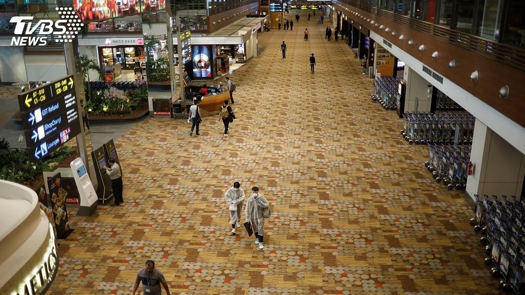 圖/達志影像路透社 新加坡逐步開放必要旅行 旅客須接受病毒檢測