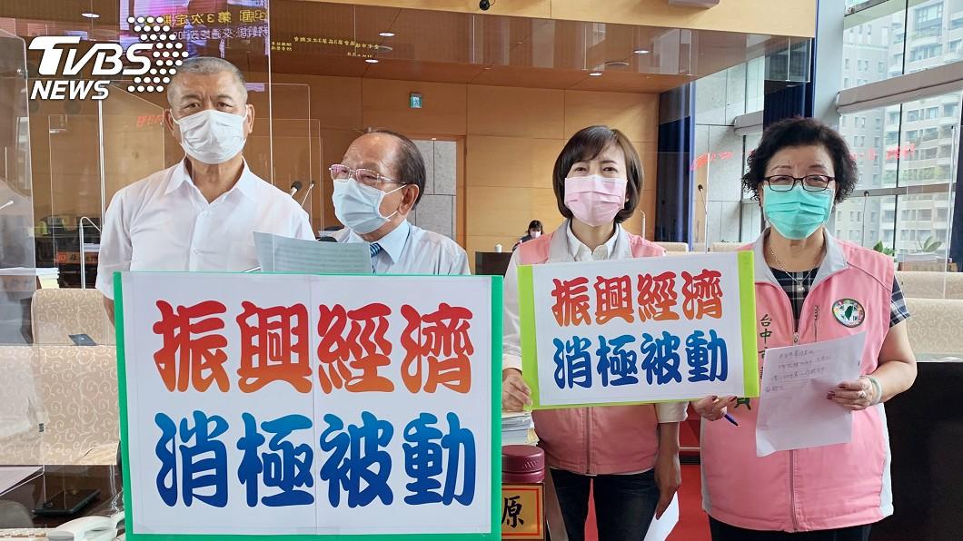圖/中央社 陳時中31日訪台中 藍綠議員要求市府趁勢行銷