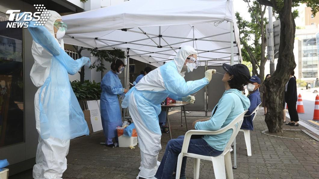 圖/達志影像美聯社 韓國連2日新增逾50例確診 物流中心成破口